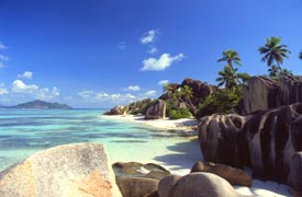 Playa de Anne Source Islas Seychelles